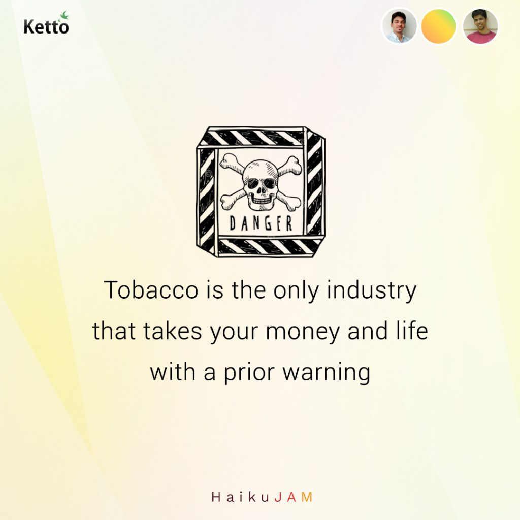 tobacco is the only industry